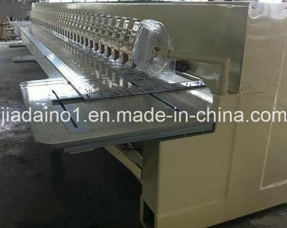 443 Head Flat Embroidery Machine with Heavy Body