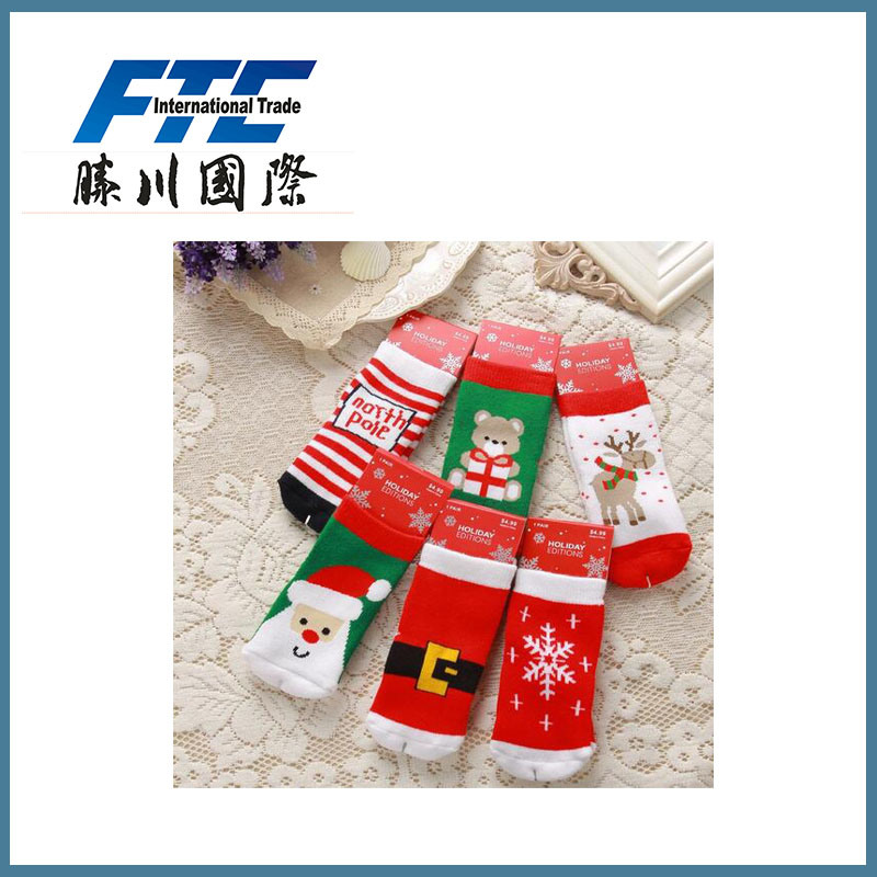 Scoks Festival Cotton Socks Decoration Christmas Stockings