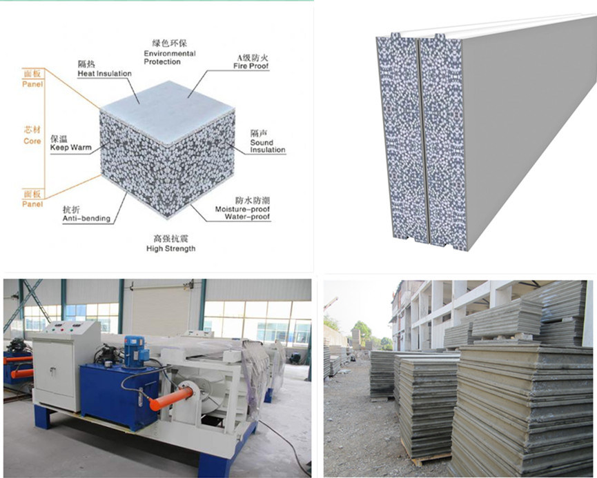 EPS Cement Wall Panel Making Machine