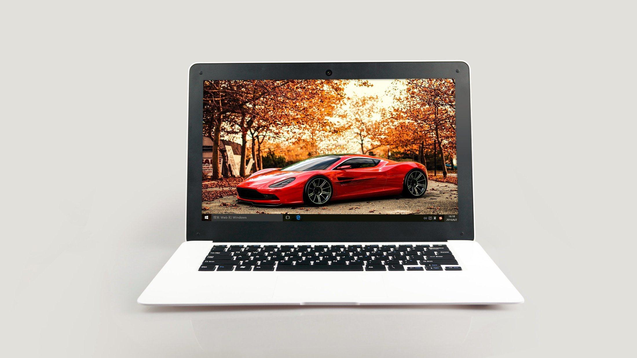 14 Inch Intel Z8350 Quad-Core Win 10 Laptop Computer