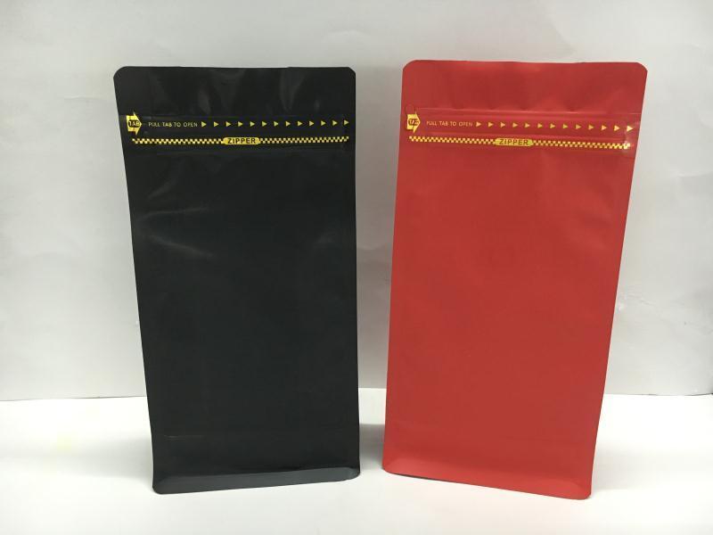 500g Customized Matt Stand up Zipper Coffee Bag