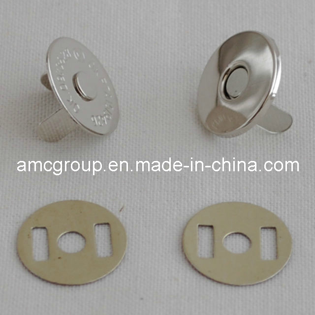 Lead Free Magnetic Bag Clasps (MS-10)