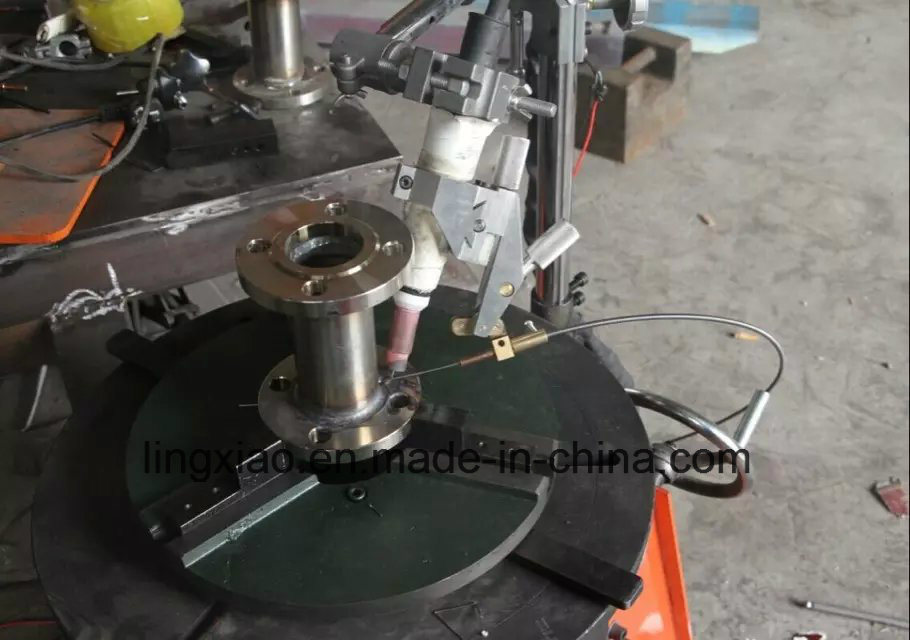 Digital Display Light Duty Welding Positioner for Flange Welding.