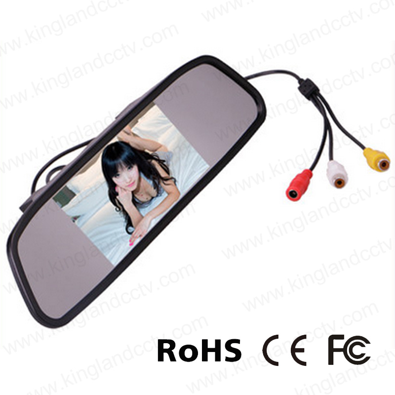4.3 Inch TFT Car Auto LCD Screen Rear View Mirror Monitor