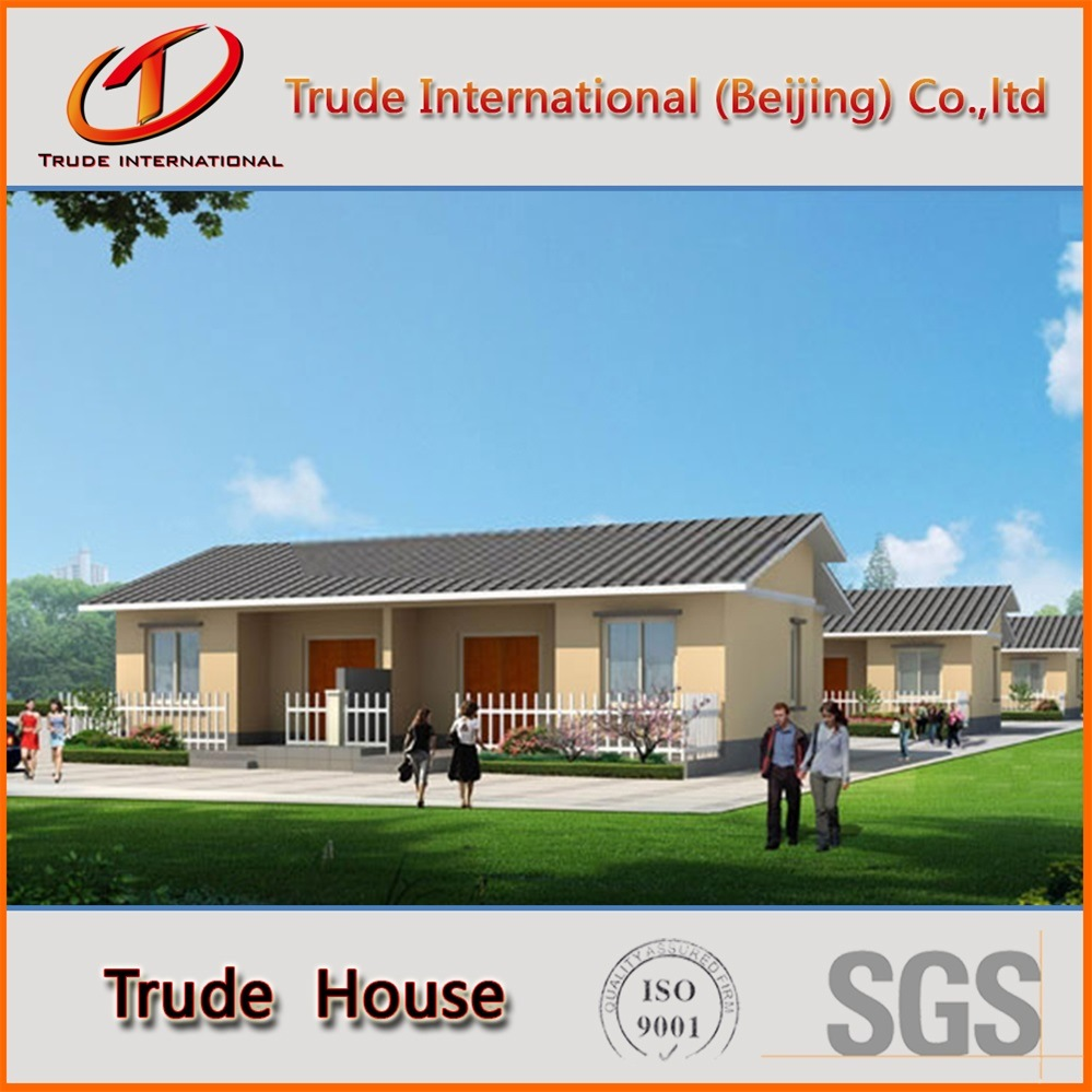 Color Steel Sandwich Panels Movable/Mobile/Modular/Prefab/Prefabricated Steel Comfortable Living Villa