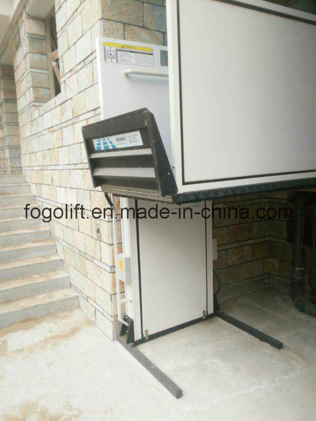 "28"" Straight Left Access Commercial Wheelchair Platform Lifts"
