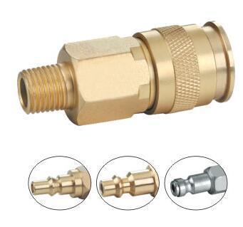Brass Pneumatic Quick Coupler