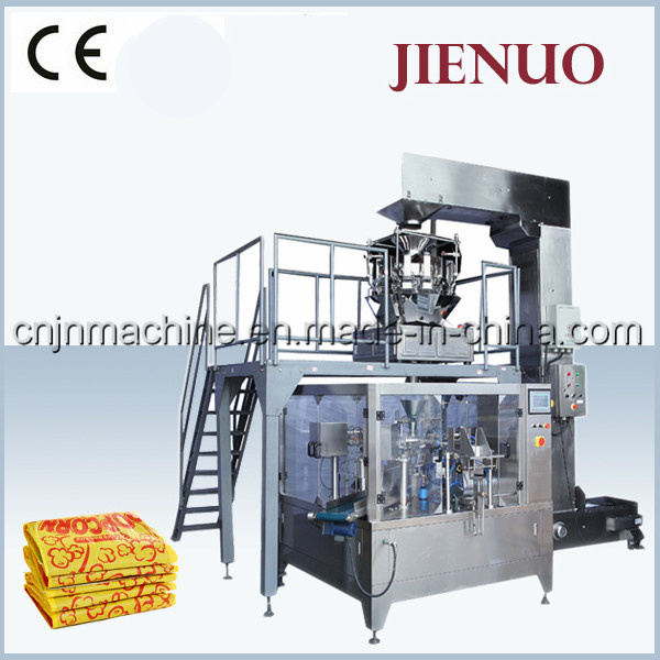 Jienuo Automatic Microwave Popcorn Food Pouch Packing Machine