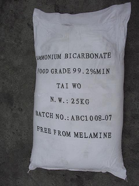 for Food Industry- Ammonium Bicarbonate