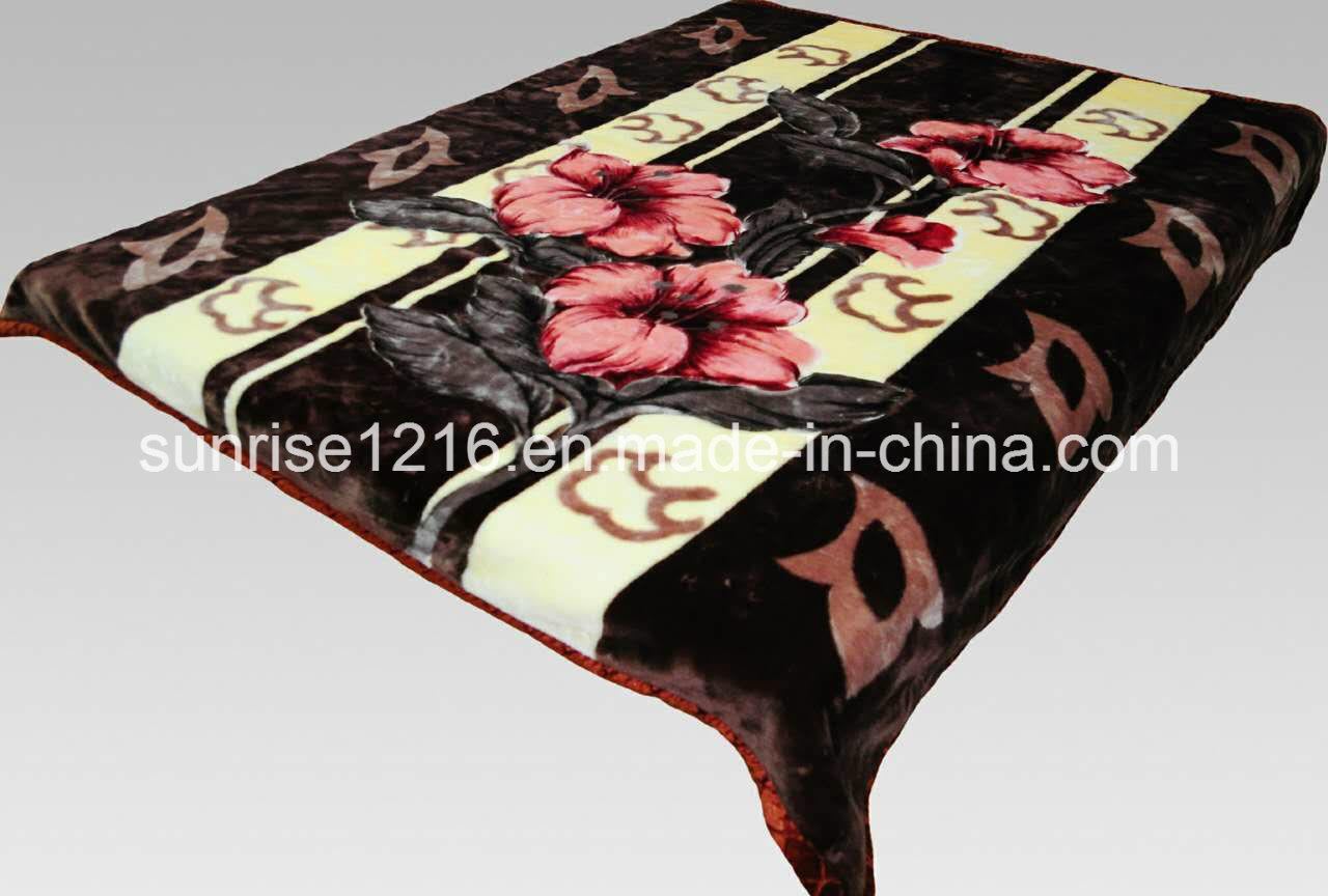 100% Polyester Soft Mink Blanket (Sr-B170228-5)