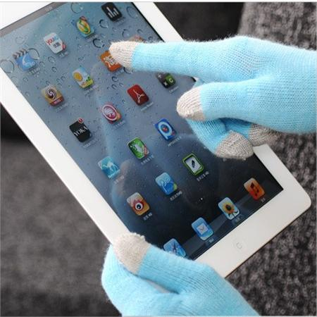 Nylon Acrylic Magic Touch Screen Gloves for iPhone iPad