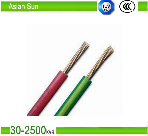 450V/750V Copper Wire PVC Insulated BV/Bvr Building Wire Cable