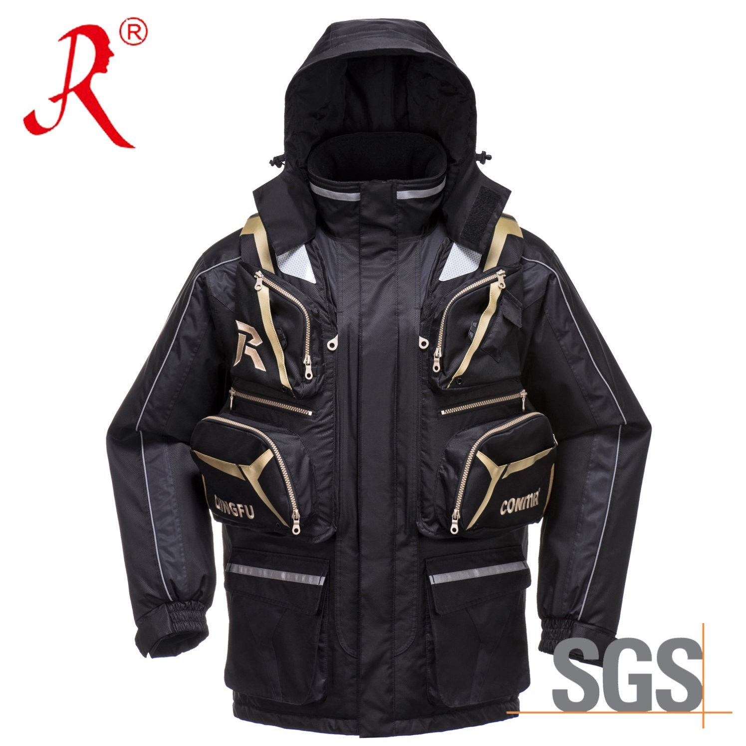 Winter Ice Fishing Vest (QF-9083C)