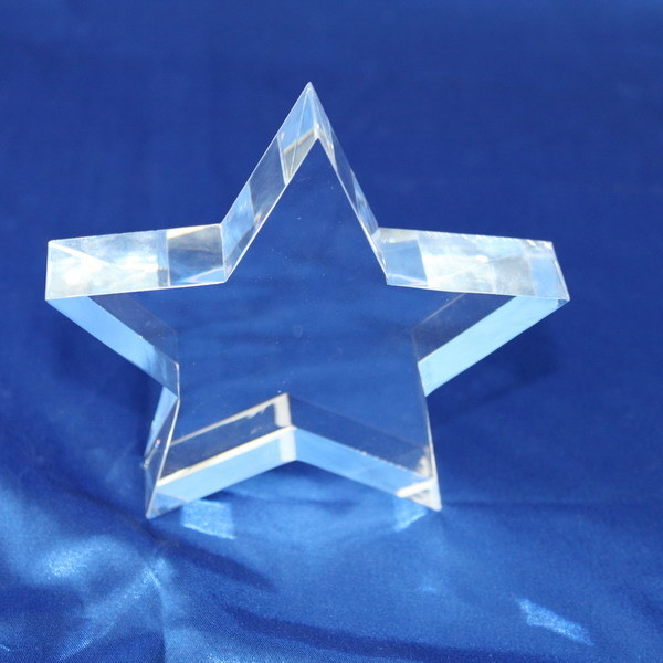 Customize Clear Acrylic Trophy Event Laser Engraved Souvenir Award for Student