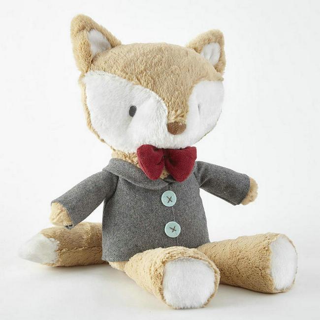 Cute Soft Animal Toys Custom Stuffed Plush Fox Toy