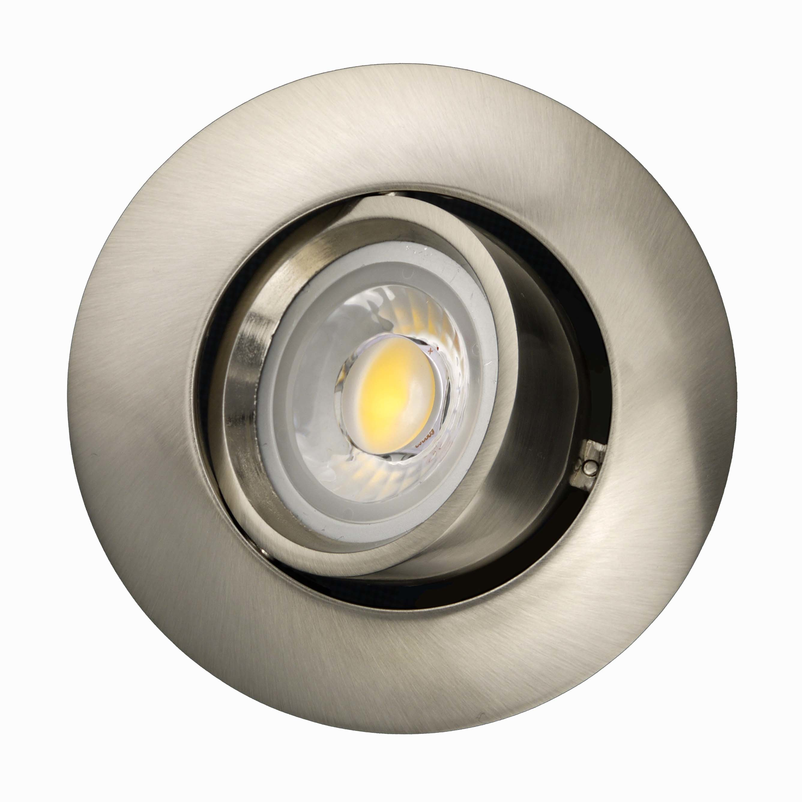 Die Casting Aluminum GU10 MR16 Round Tilt Recessed LED Downlight (LT1204)