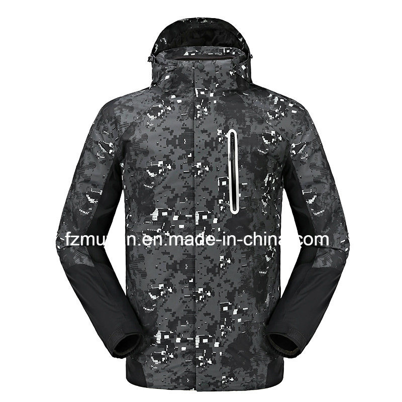 Windproof Waterproof Warm Jackets Men and Women Models