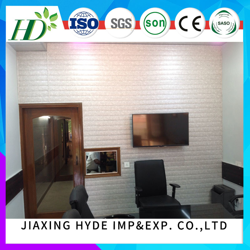25cm Width Waterproof Groove PVC Panel Ceiling Panel Wall Panel for Interior Deocration