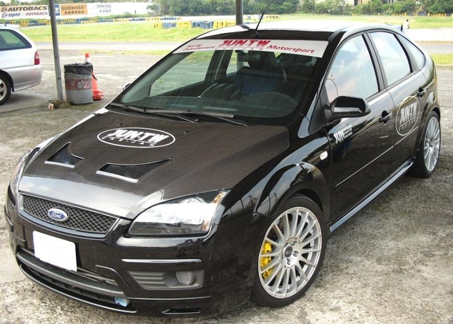 China Carbon Hood Bonnet Tuning Style for Ford Focus 2005 - large ...