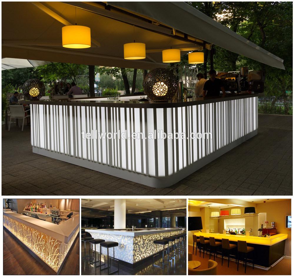 L Shaped Single Storey Homes Interior Design I J C Mobile: China Tw Cafe Bar Counter Design Free Standing Modern Bar