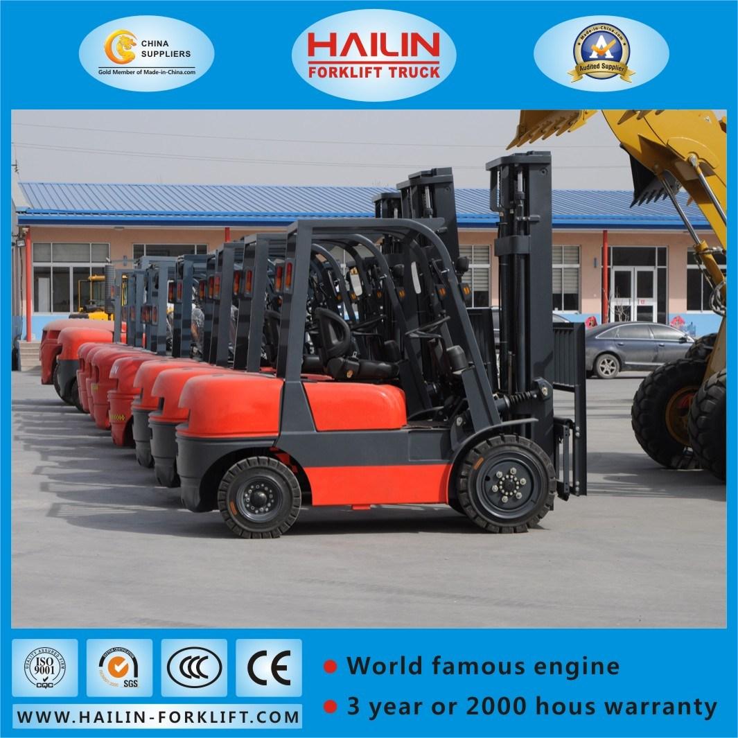 Diesel Forklift 3.0ton, Isuzu Engine, Cst Tires