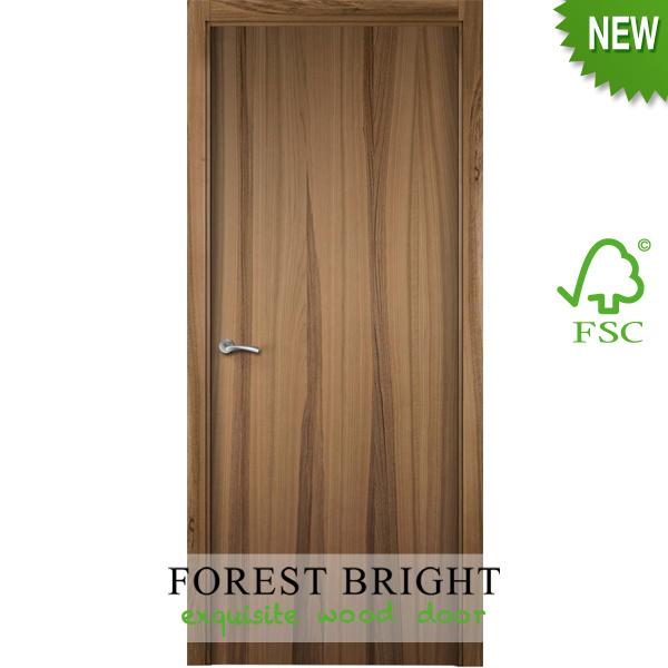Nice Design Engineered Veneer Wooden Flush Door for Hotel