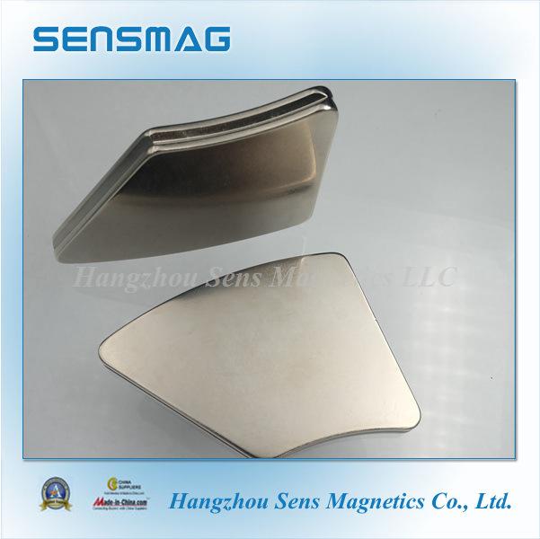 Professional Arc Permanent NdFeB Neodymium Magnet for Generator