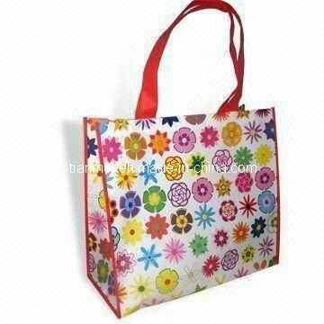 High Quality Non-Woven Gift Bag Shopping Bag with Coating