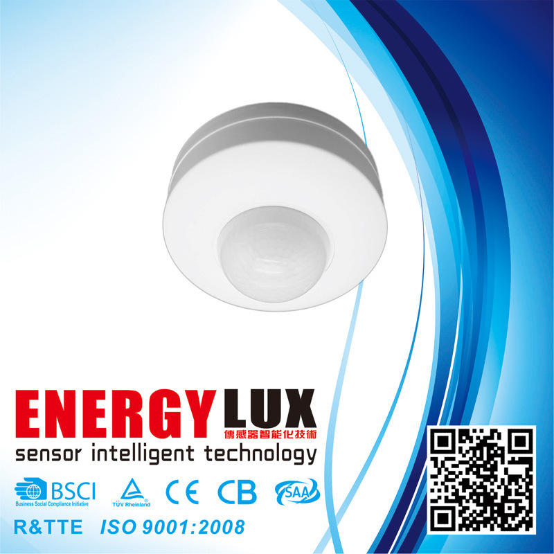 Es-P12b Three Detector 360 Degree Ceiling Infrared Motion Sensor