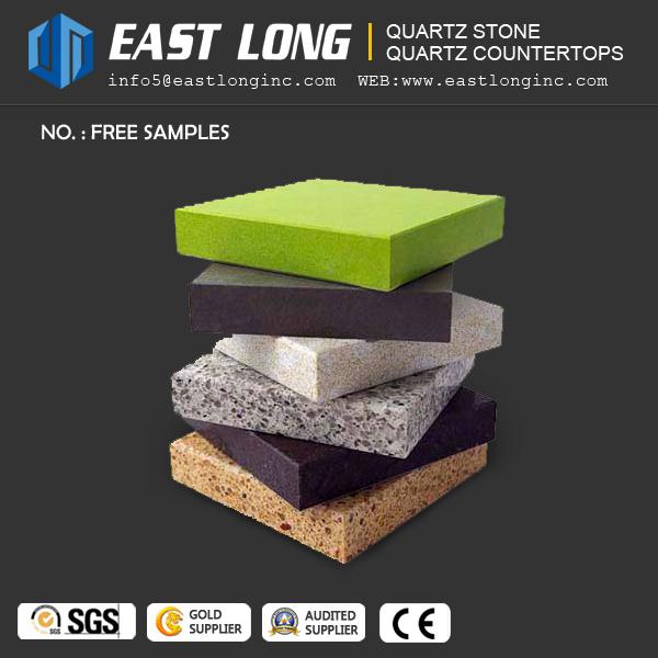 Get Your Free Quartz Stone Samples for Building Material /Quartz Countertops