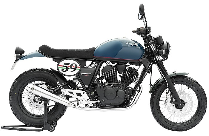 ECE Motorcycle Cafe 250 with Fuel Injection V Twin Engine 2017 New Model