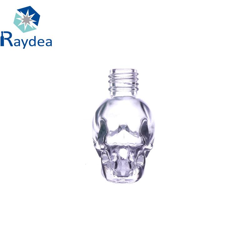 6ml Clear Glass Nail Polish Bottle