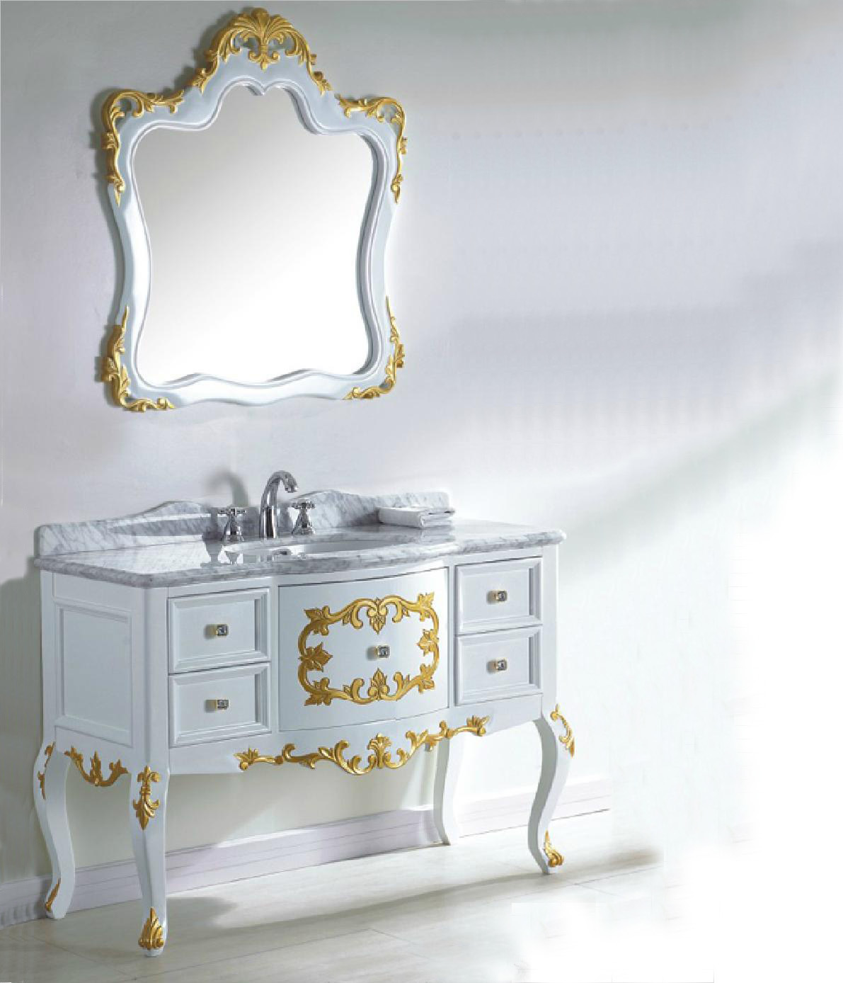 China 2012 Antique White Bathroom Vanities White Wash Vanity G8152A s &a