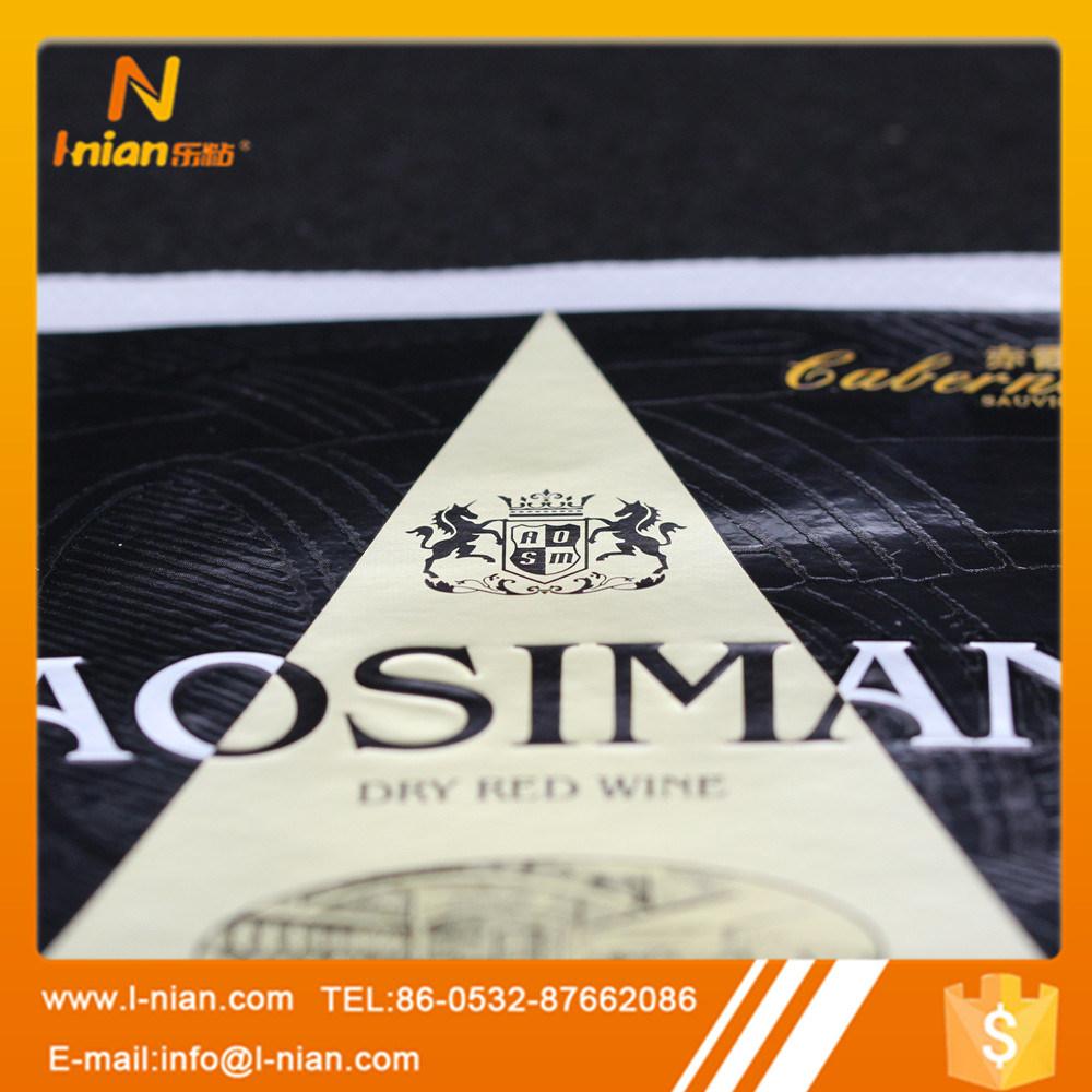 Premium Plastic Wine Label Manufacturer