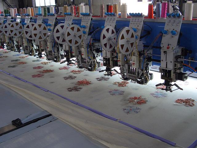 Mixed Embroidery Machine/Computerized Embroidery Machine