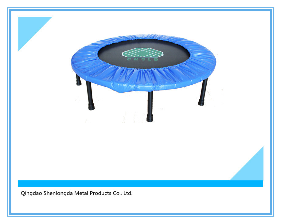 Sld. 48′′-Fyx-T Mini Trampoline Folded with Safety Net