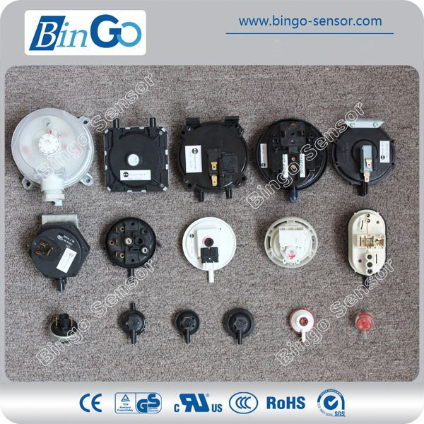 Low Pressure Switch for Air, Gas, with Detailed Models
