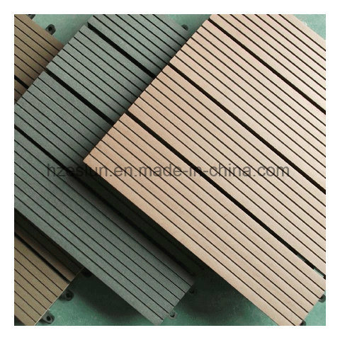 200*200*25mm Factory Hot Sale WPC DIY Decking Tiles