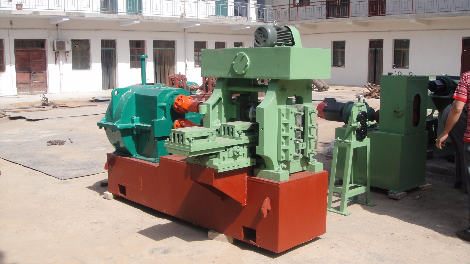 Make Ribs From Wire Rod Cold Rolling Mill/Rebar Cold Rolled Machine