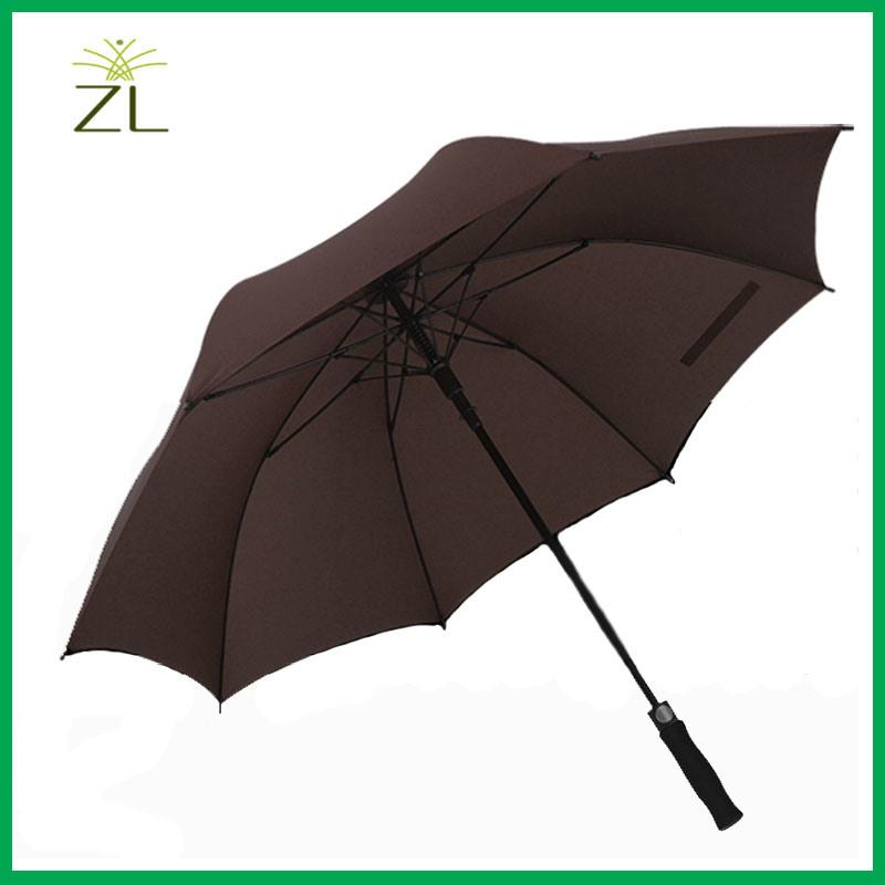 Customized Friendly Outdoor Advertising Straight Umbrella