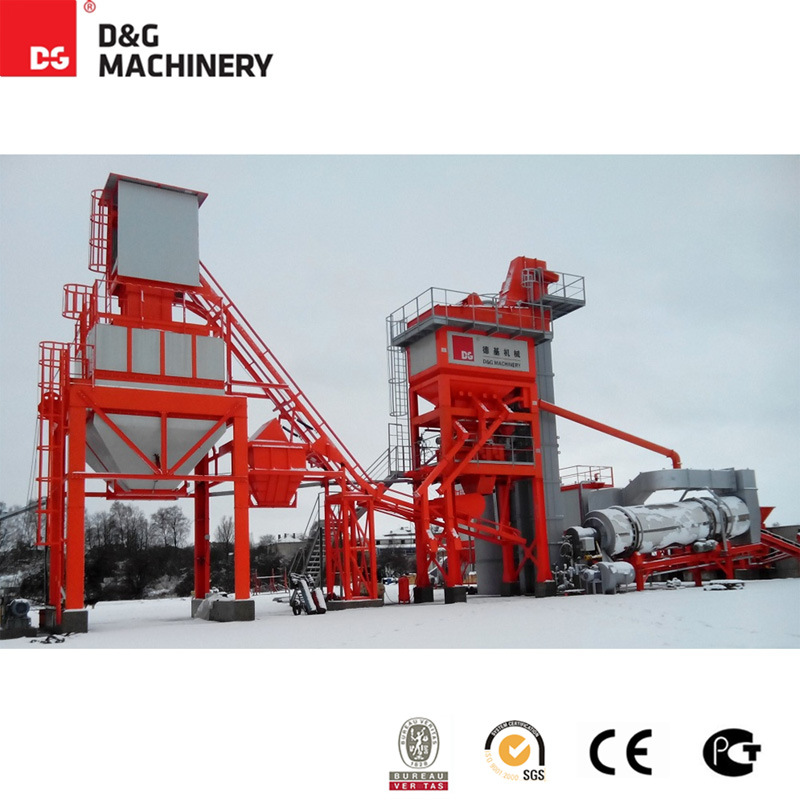 100-123 T/H Hot Mix Asphalt Mixing Plant / Asphalt Plant for Road Construction / Asphalt Recycling Plant for Sale