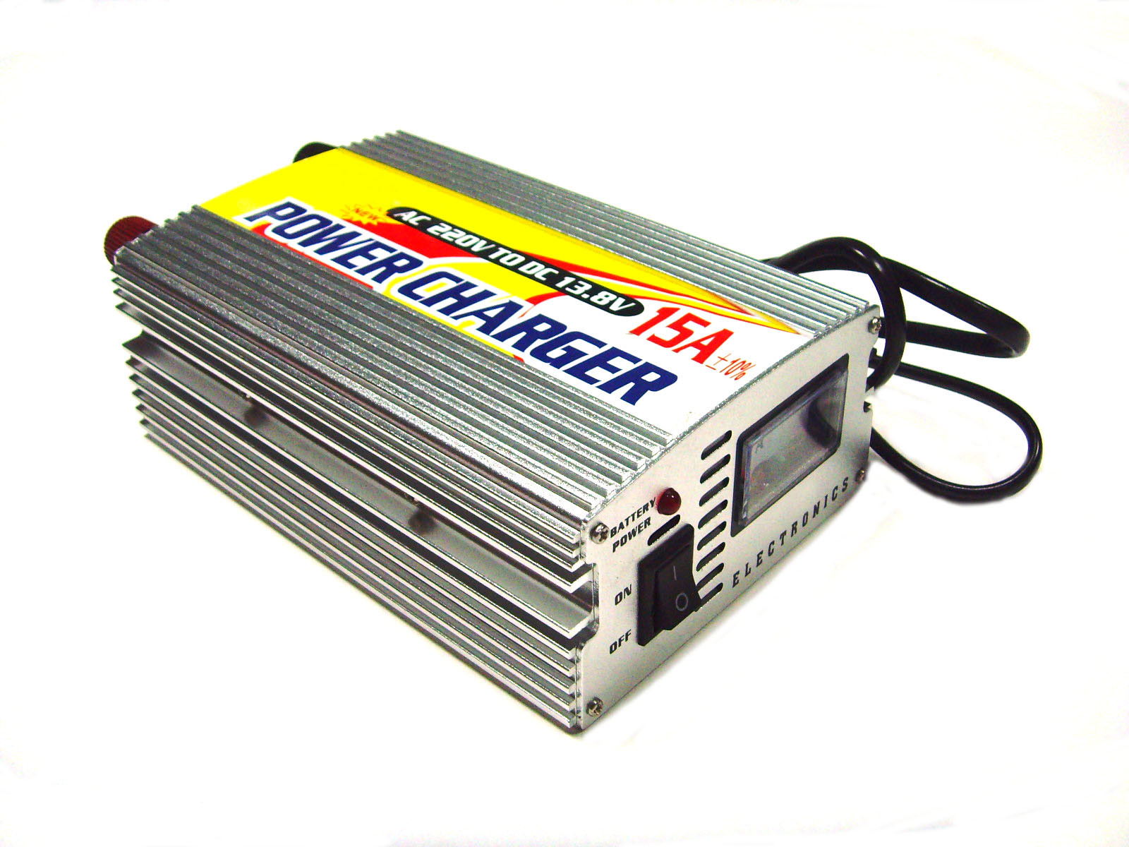 China 12v 15a Portable Car Battery Charger China Battery