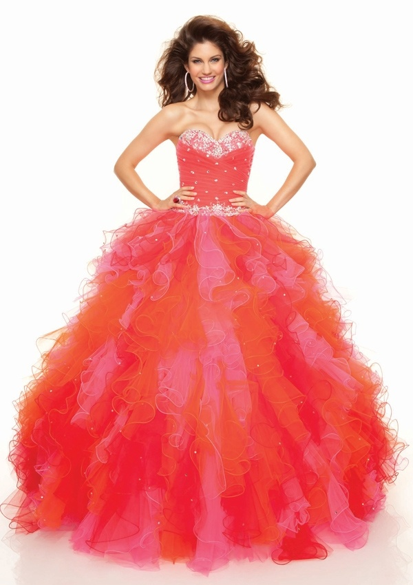 2016 Ball Gown Prom Dresses (PD3015)