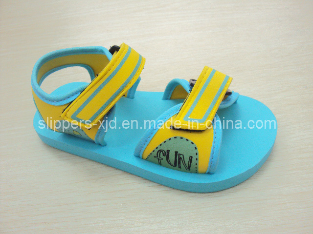 New Child Cartoon Printing Kids EVA Sandals
