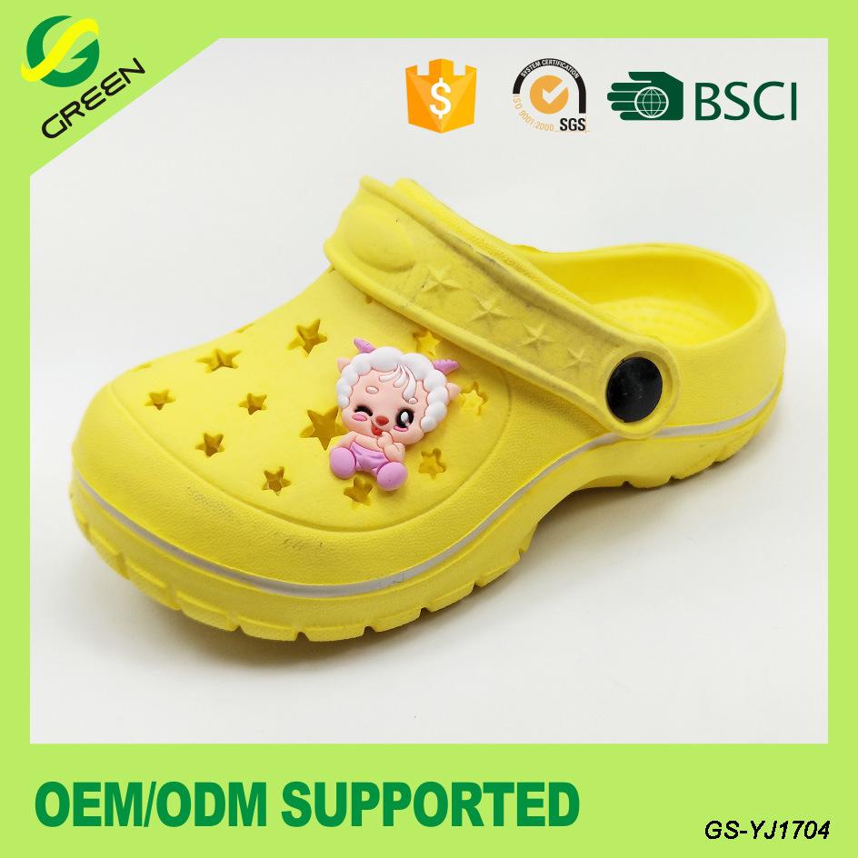 2017 EVA Kids Clogs Garden Shoes for Children