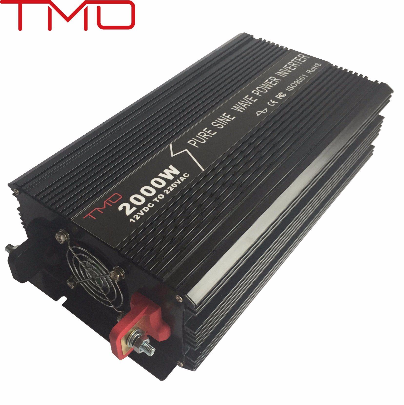 LED Display off Grid 2000 Watt/ 2kw/ 2kVA Pure Sine Wave Power Inverter 12V 220V