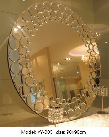 Sanitary Ware Bathroom Decorative Mirror Hand-Craft