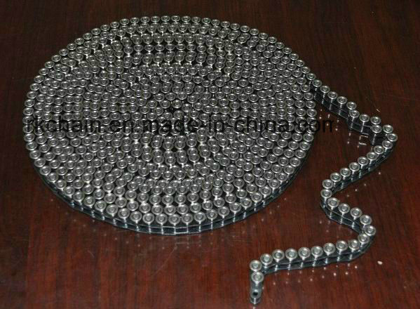 Roller Chain with One Side Steel Rollers