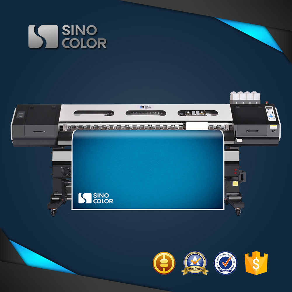 1.8m Sinocolor Sj740 Eco Solvent Inkjet Plotter with Epson Dx7 Head and Photoprint Rip