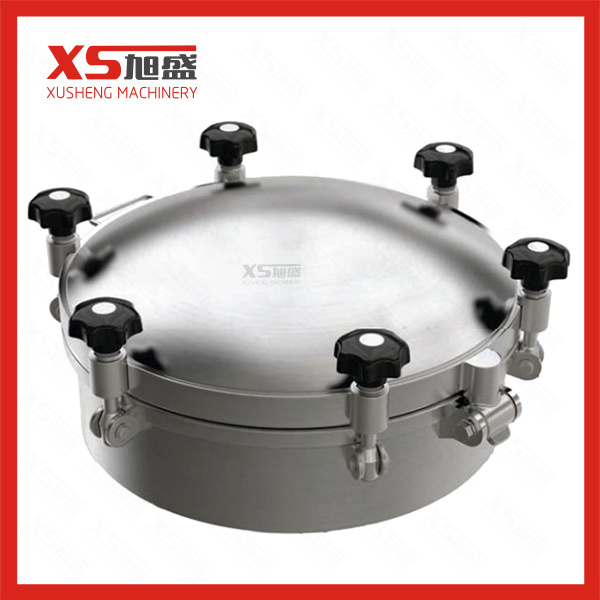 Yaa Model Stainless Steel Ss304 Sanitary Outward Round Pressure Manway